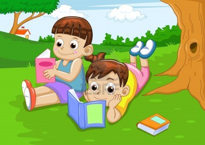 10261887-nino-y-nina-lectura-libro